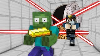 Monster School : CRAZY BANK ROBBERY CHALLENGE - Minecraft Animation