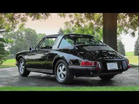VOITURE PORSCHE 911 TARGA - 1973 NOREV 1/43 COLLECTION PORSCHE 911 ATLAS N°12