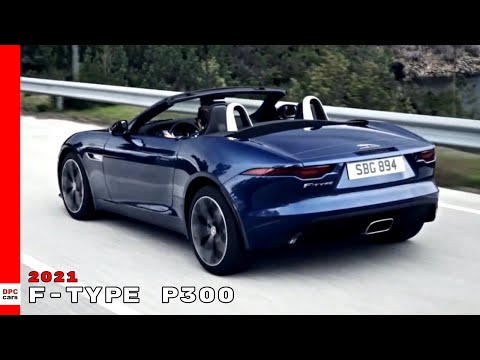 New 2021 Jaguar F-TYPE P300 Convertible