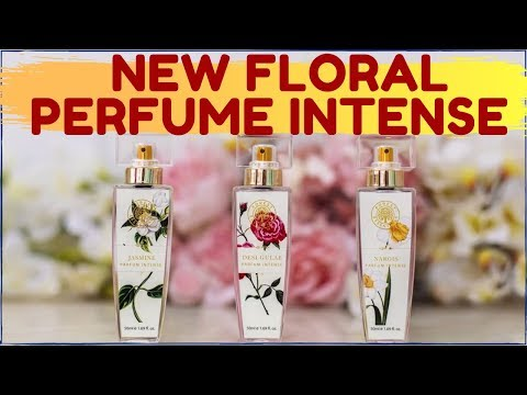 DISCOVER OUR NEW FLORAL PERFUME INTENSE