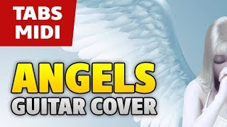 Morandi – Angels (Love Is The Answer) Acoustic fingerstyle guitar cover with TAB and MIDI