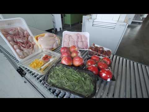 Verpacken von Frisch- und Tiefkühlprodukten in Folie