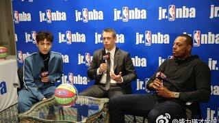 [ENG] Kris Wu and Paul Pierce for Jr. NBA China Interview