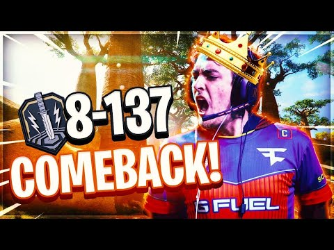 8-137 COMEBACK KING OR NAW... AT THIS POINT I MIGHT GET BANNED! (BLACK OPS 4)