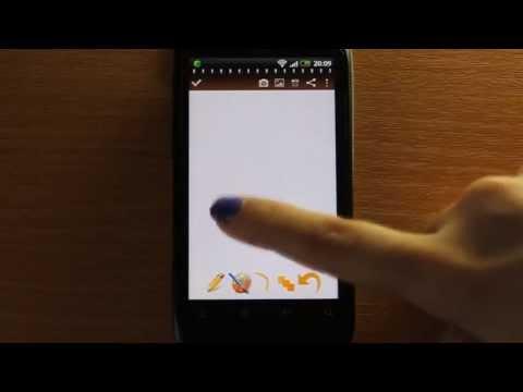 Vídeo do Bloco de notas para Android