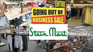STEIN MART SHOP WITH ME 2020   GOING OUT OF BUSINESS SALE   AFFORDABLE FALL FASHION