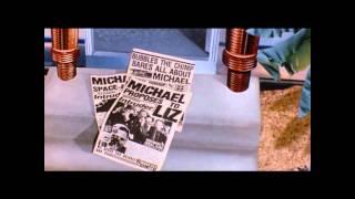Michael Jackson - In the back (Lyrics on screen) RARE