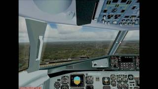 preview picture of video 'EPKT NDB rwy09 approach'