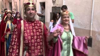 preview picture of video 'Terra de Trobadors 2014 a Castelló d'Empúries'