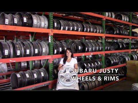 Factory Original Subaru Justy Rims & OEM Subaru Justy Wheels – OriginalWheel.com