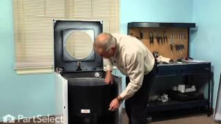 Washing Machine Repair- Replacing the Tub Bearing Kit (Whirlpool Part # 6-2040130)