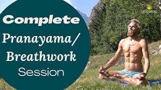 Full Pranayama session 1 - Michaël Bijker
