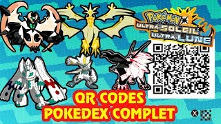 Marshadow  - (Pokémon) - TOUS LES QR CODES = POKEDEX COMPLET ALOLA POKEMON ULTRA SOLEIL & LUNE! Sun & Moon