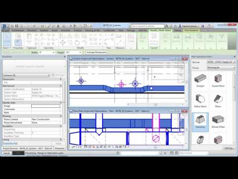 Revit 2017 – Design to Fabrication