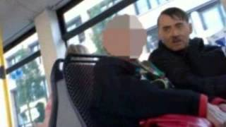 Adolf H*tler look-a-like travels everywhere with a copy of Mein Kampf and even charges £60