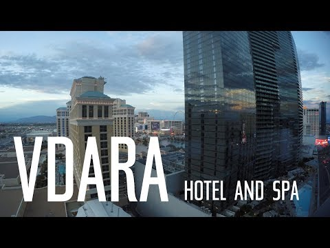 Vdara Hotel and Spa Room Review 2017