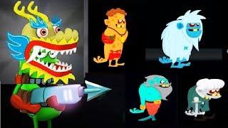 ОХОТНИКИ НА ЗОМБИ #35 Мульт Игра для детей про ловцов зомби Zombie Catchers #Мобильные игры
