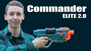Disruptor vs. Commander, Nerf Elite 2.0 - Unboxing, Review & Test | MagicBiber [deutsch]