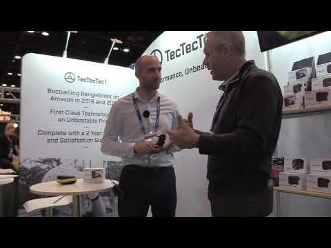 TecTecTec Laser Rangefinders | PGA SHOW 2018