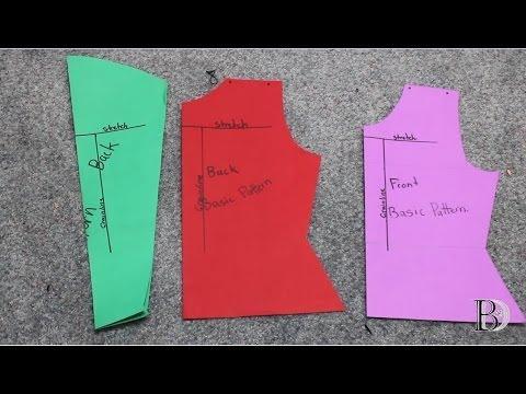 DIY-Basic Sewing Tutorial: The Basic Top