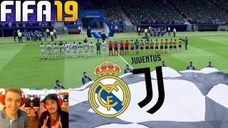 FIFA 19 REAL MADRID VS JUVENTUS - CHAMPIONS LEAGUE FINAL !!!