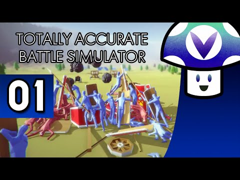 [Vinesauce] Vinny - Totally Accurate Battle Simulator (part 1)