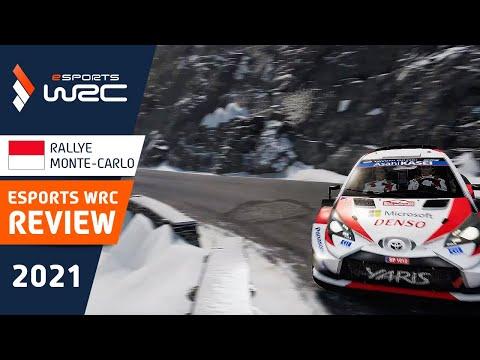 E-sports WRC2021 モンテカルロ プレビュー動画
