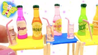 5 Super Easy DIY Miniature Drinks in Glass with Ice