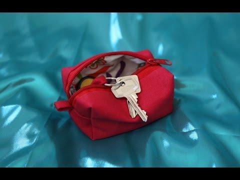 DaIsY´s DIY - Schlüsseltasche / Schlüsseletui mit Reißverschluss selber nähen