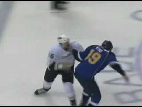 George Parros vs D.J. King