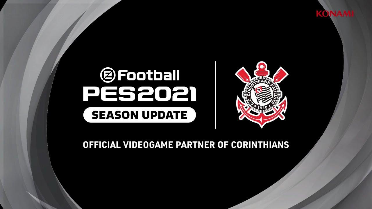 eFootball PES2021 | Anuncio del Trailer Oficial con Corinthians