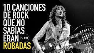 10 canciones de rock que no sabías eran robadas