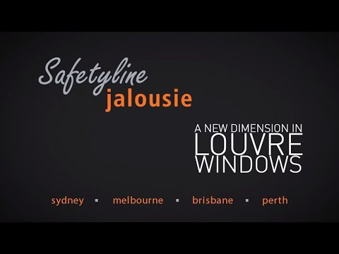 Safetyline Jalousie Louvre Windows