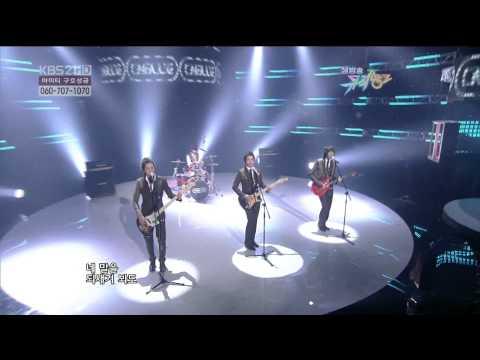 100205 KBS Music Bank - CNBLUE - 외톨이야 孤獨的人