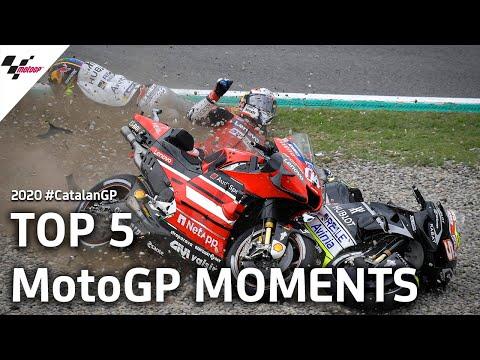 MotoGP カタルーニャGP 気になる5シーンを集めたダイジェスト動画