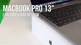 "Análisis MacBook Pro 13"" con Touchbar"