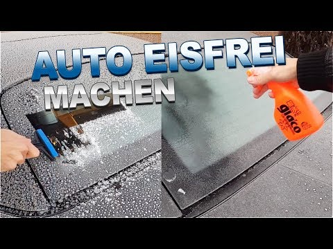Eiskratzer vs Scheibenenteiser   Eis und Schnee sanft vom Auto entfernen   83metoo