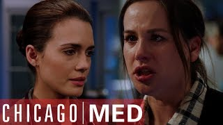 Dr Manning Deals With Distraught Mother | Chicago Med