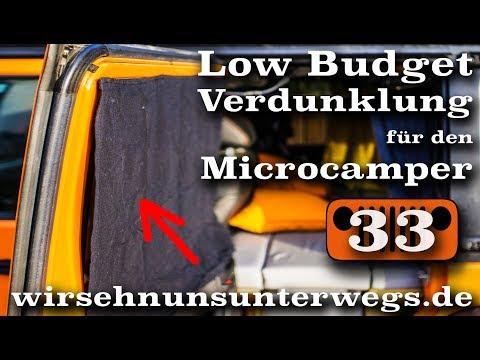Low Budget Verdunklung im Camper | AusbauVlog33 | wirsehnunsunterwegs.de
