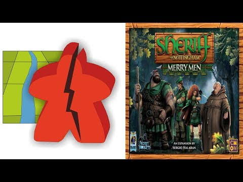 The Broken Meeple - Sheriff of Nottingham: Merry Men Review