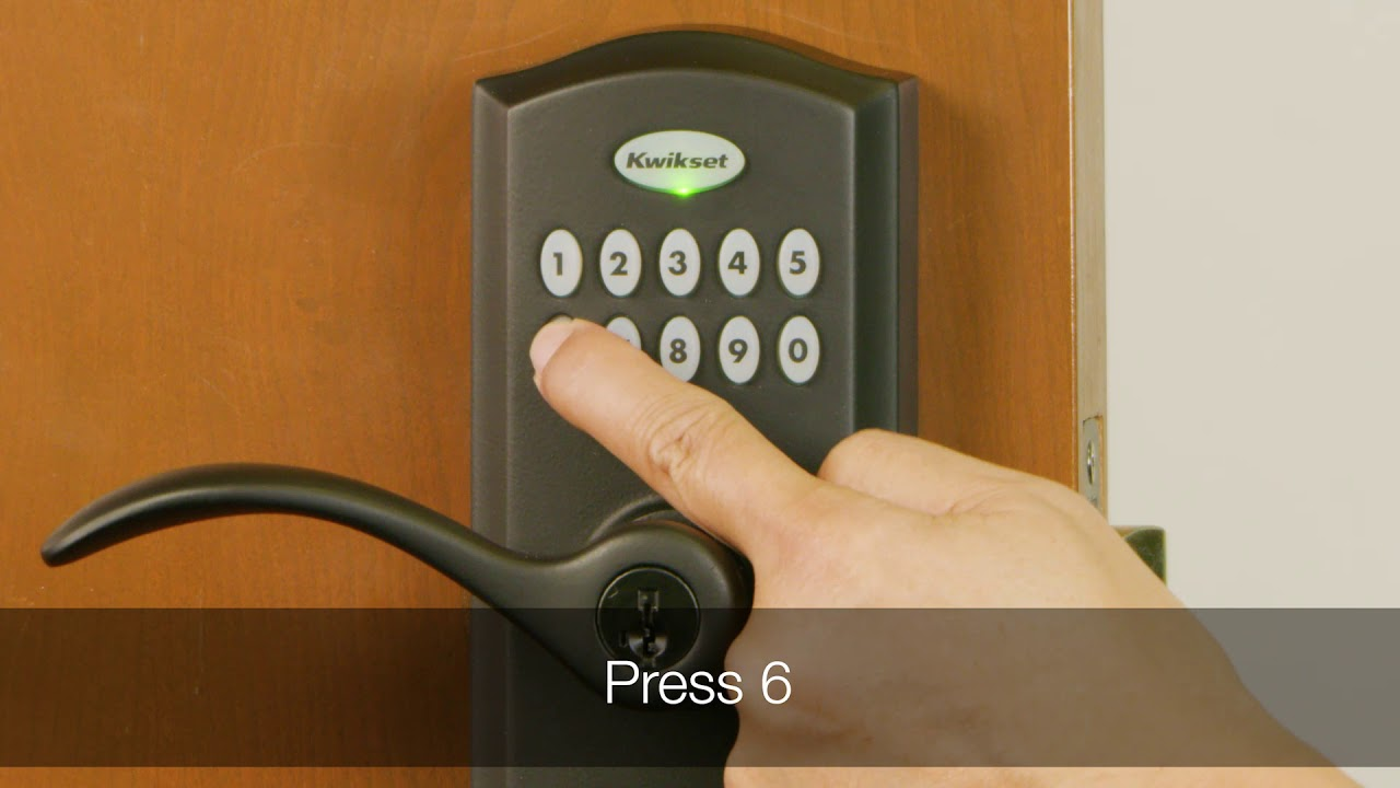 Disabling all User Codes in the Kwikset Smartcode 955
