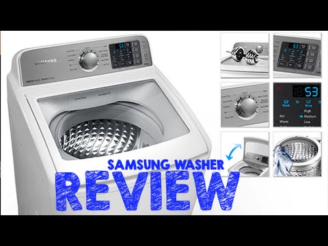 SAMSUNG WASHING MACHINE REVIEW