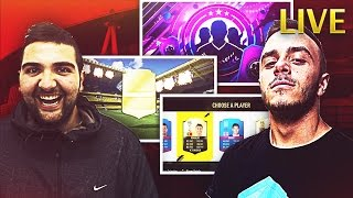PACK OPENING + SQUAD BUILDING + DRAFT CON DOPPIA FACECAM!!!! W/T4tino23