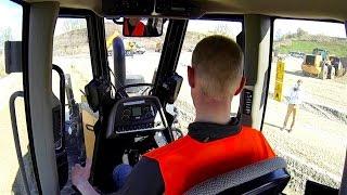 Test Driving The Case 2050M Dozer @ Bauma 2016: Cab View