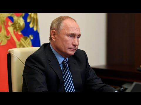 Появилось видео общения Путина с искусственным интеллектом