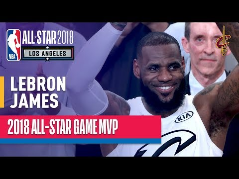 LeBron James MVP Performance | 2018 NBA All-Star Game