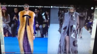Женский жилет на зиму на молниис капюшоном от компании Интернет-магазин-Модной дешевой одежды. - видео