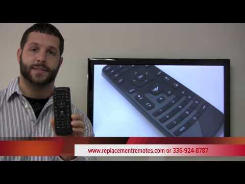 VIZIO XRT010 TV Remote Control
