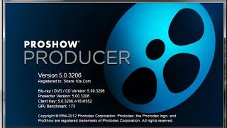 Программа Proshow Producer, создание презентации, Урок1