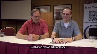 Chad Jones interviews Åke Hultqvist Chief Editor of Tobak & Mer magazine at St Louis Snus Con 2017